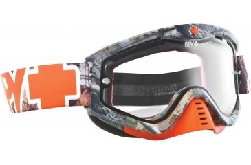 Spy Optic Whip MX Goggles - SPY + Real Tree Enduro  Frame and Clear Dual - Pane Lens 320791984115