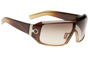Spy Optics Haymaker Sunglasses 670373210073 Coconut Creme Fade frame and Bronze Fade lenses