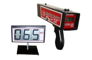 Sports Radar SR-3600 Radar Gun & DS400 LCD Screen