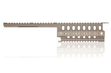 Troy SIG 556 BattleRail (Pistol/SBR) - Flat Dark Earth SRAI-SIG-50FT-00