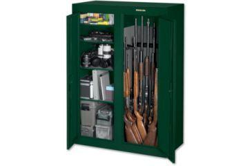 Stack-On 16-31 Gun Convertible Double Door Steel Security ...