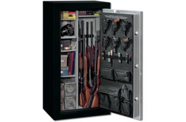 Stack On 22 Total Defense Gun Safe W/ Combination Lock And Door Storage,
