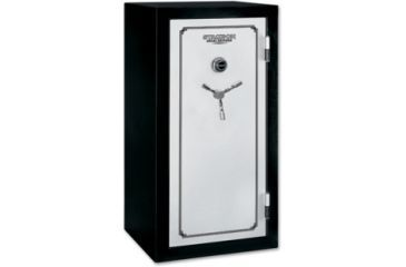 Stack On 28 Total Defense Gun Safe W/ Combination Lock And Door Storage,