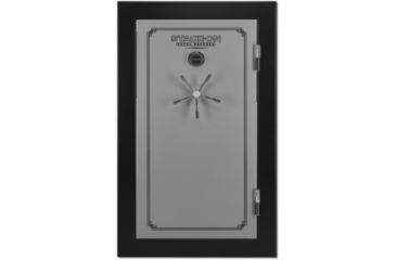 Stack On 36 Total Defense Gun Safe W/ Combination Lock And Door Storage,
