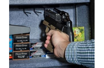 3-Stack-On Shooters Pistol/Ammo Safe w/Electronic Lock