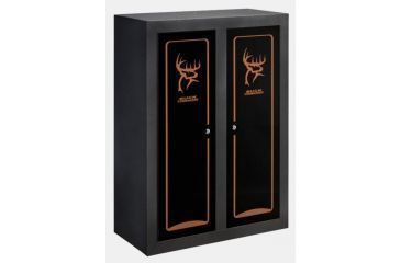 stack on buck commander double door gun  bow cabinet safe Wooden Gun Cabinet Plans Bow and Arrow Cabinet