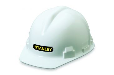 Stanley Rst 62002 White Hard Hat PresLock Suspension