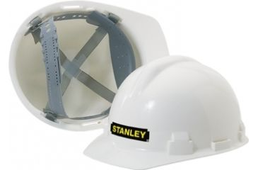 Stanley Rst 62004 White Hard Hat Ratcheting Adjustment