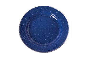 Stansport Enamel Dinner Plate Stainless Steel Edge, 10in. 192454