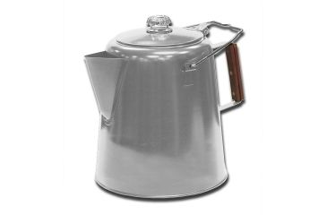 Stansport Stainless Steel Percolator Coffee Pot, 28 Cup 192469