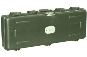 Starlight Cases Gun Case 6x13x52in Wwheel Post For Standing On End Olive Drab