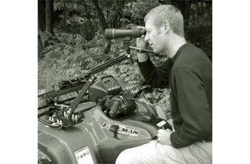 Steady Mount on an ATV in use