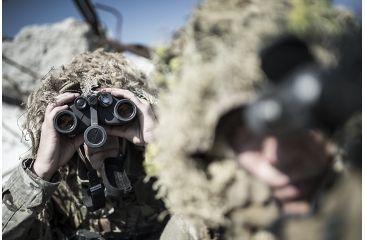 8-Steiner 10x50 M50 LRF Military Binoculars w/ Laser Rangefinder & Tripod Mount