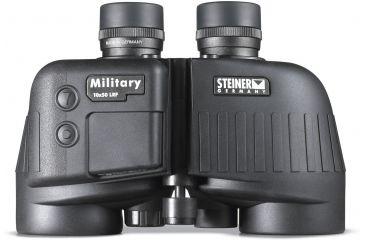 Steiner 10x50 Military Porro Prism Matte Black Waterproof Binoculars/Laser Rangefinder 398