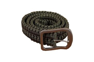 Stone River Gear Paracord Survival Belt,Green,Small,Waist 28-32 ,Two 48ft Cords SRG1SBSG