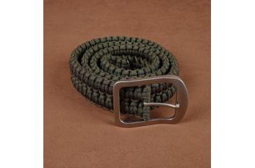 Stone River Gear Paracord Survival Belt, Green, Medium SRG1SBMG