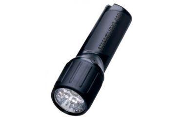 Streamlight 4AA Propolymer LED Flashlight, White LEDs w/ Batteries,Black,Box 68301