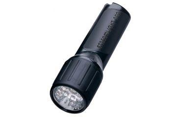 Streamlight 4AA Propolymer LED Light White LEDs & Batteries,Black,Blister Pack 68302
