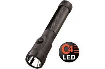 Streamlight C4 LED Rechargeable Polystinger LED Flashlight Black, Light Only, WITHOUT CHARGER
