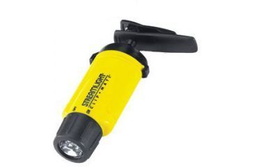 Streamlight Clipmate White LED Flashlight, headband, battery - Yellow