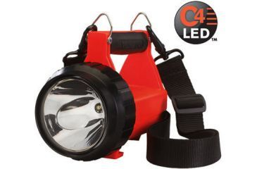 Streamlight Fire Vulcan Rechargeable C4 LED Flashlight - Orange