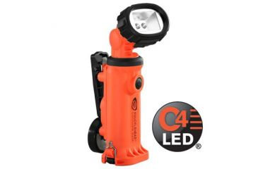 Streamlight Knucklehead Orange Light w/ Clip, Alkaline Version 90644