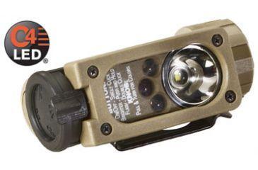 Streamlight Sidewinder Compact Aviation Flashlights - White C4 LED, Green, Blue, IR LEDs