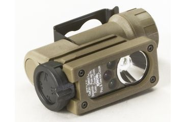 Streamlight Sidewinder Tactical Flashlight - White/Red/Green/Blue - Coyote Tan