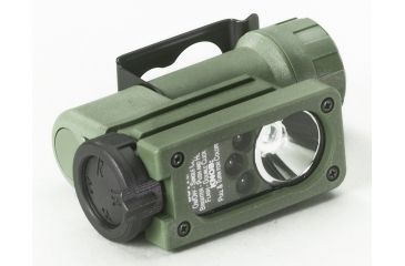 Streamlight Sidewinder Tactical Flashlight - White/Red/Green/Blue - Olive Drab