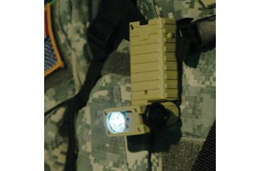 Streamlight Sidewinder Tactical Flashlight clips on MOLLE, backpack loop or belt