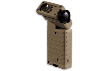 Streamlight Sidewinder Tactical Flashlight, Coyote Tan - C4 White, Red, Blue, IR LEDs 14032 Boxed package