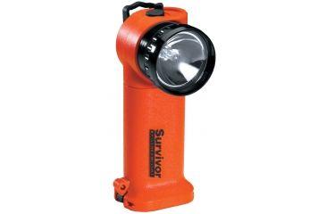 Streamlight Survivor Division 2 Flashlight, Orange - Light only, WITHOUT CHARGER