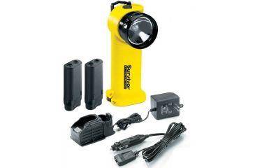 5-Streamlight Survivor Division 2 Flashlight, Yellow