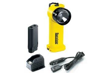 4-Streamlight Survivor Division 2 Flashlight, Yellow