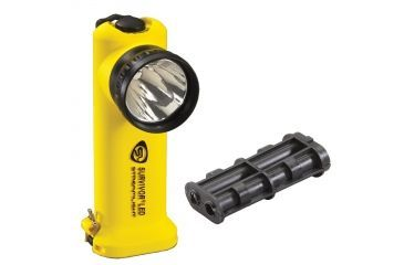 Streamlight Survivor-LED 90510 - yellow w/ NiCAD Battery pack