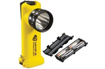 Streamlight Survivor-LED 90541 - yellow w/ Alkaline Battery pack