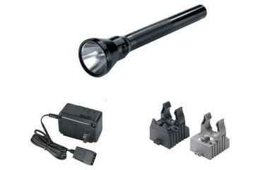 Streamlight Ultrastinger Flashlight with AC-DC Steady Charger - 2 Holders