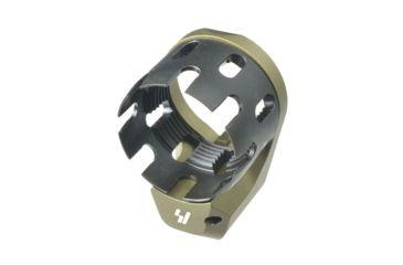 10-Strike Industries AR QD Enhanced Castle Nut and Extended End Plate