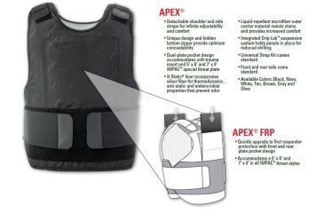 Summit Concealable Body Armor Carriers APEX and APEX FRP