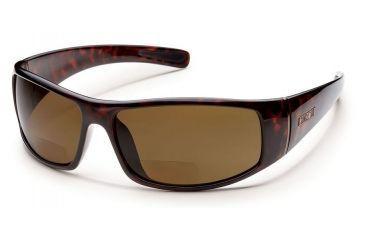 70d55e9677 Suncloud Atlas Sunglasses Tortoise Frame Brown Polarized Reader +1.50 Lens  S-ATPPBRTT150