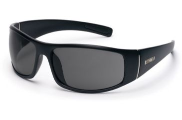Suncloud Atlas Sunglasses, Matte Black Frame, Gray Polarized Polycarbonate Lens S-ATPPGYMB