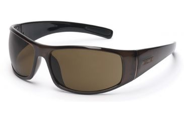 Suncloud Atlas Sunglasses, Coffee Frame, Brown Polarized Polycarbonate Lens S-ATPPBRBR