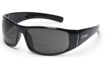 Suncloud Atlas Sun Glasses, Black Frame, Gray Polarized Reader Lens