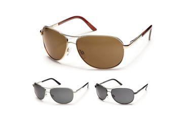a3f430ea93 Suncloud Aviator Sunglasses with Polarized Polycarbonate Lenses ...