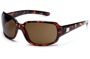 Suncloud Cookie Sun Glasses, Tortoise Frame, Brown Polarized Polycarbonate Lens S-COPPBRTT