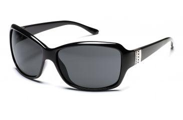 SunCloud Daybreak Sunglasses - Black Frame, Gray Lenses