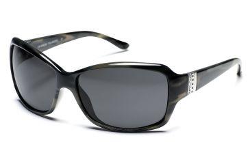 Sun Cloud Day Break Sunglasses - Kaelp Demi Frame, Gray Lenses