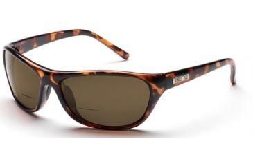 Suncloud Honcho Sunglasses, Tortoise Frame, Brown Polarized Reader Lens