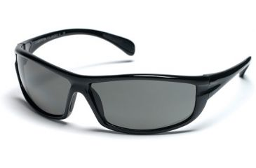 Suncloud King Sunglasses, Black Frame, Gray Polarized Polycarbonate Lens S-KNPPGYBK