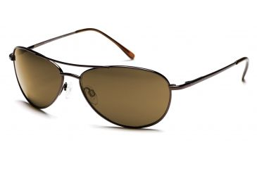 Suncloud Sunglasses - Patrol Sunglasses with Brown Frames, Brown Lenses